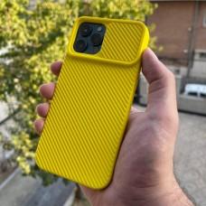 قاب دوربین کشویی,سیلیکونی زرد Apple iphone 6-6s-6p-6sp-7-8-se2020-7p-8p-x-xs-11-11pro-11promax-12-12pro-12promax