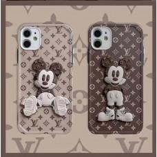 قاب Mickey Mouse میکی موس Louis vuitton  لویی ویتون Apple iphone 11-11promax-12-12pro-12promax