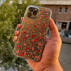 قاب K-doo flowers pink گل گلی Apple iphone 12-12pro-12promax