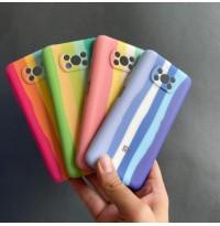 قاب سیلیکونی رنگین کمانی Rainbow l xiaomi Poco X3