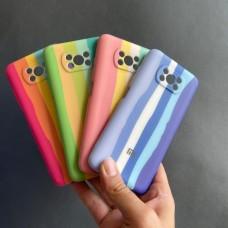قاب سیلیکونی رنگین کمانی Rainbow l xiaomi Redmi 9