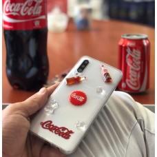 قاب کوکاکولا همراه با یخ برجسته Coca cola with outstanding ice l samsung
